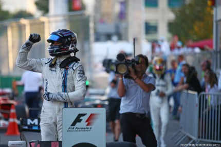 25.06.2017 - Race, 3rd place Lance Stroll (CDN) Williams FW40