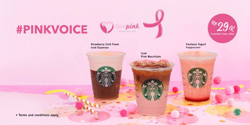 Starbucks Indonesia marks the second year of PINKVOICE ...
